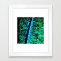BreadfruitLeaf Framed Art Print