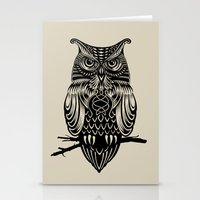 Owl of Cairo Stationery Cards