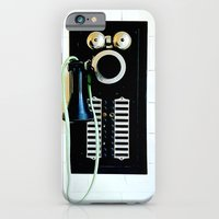 iPhone & iPod Case featuring Wall Phone by Josh Kirk