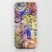 iPhone Cases featuring Pecson Tribal by Matt Pecson