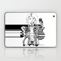 The Girl, Her Dog And A … Laptop & iPad Skin