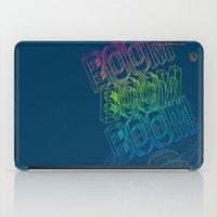Boom Boom Boom iPad Case