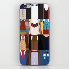 The Doctors - Doctor Who & TARDIS iPhone & iPod Skin