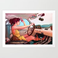 The Getaway Art Print