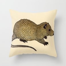 Nutria  Throw Pillow