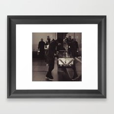 The Museum Framed Art Print