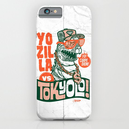Tokyolo (YOZILLA variant) iPhone & iPod Case