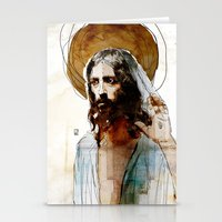 Shalom Aleichem/Peace Be… Stationery Cards