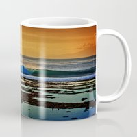 Indonesian Wave and Volcano Mug