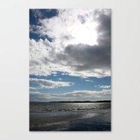 love the sea Canvas Print