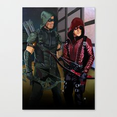 Arrowverse Canvas Print