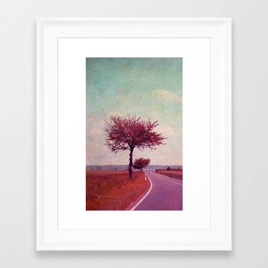summer & sun Framed Art Print