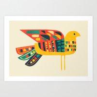 Century Bird Art Print
