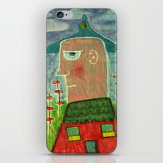 Make a Little Birdhouse in Your Soul iPhone & iPod Skin