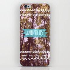 Wanderlust iPhone & iPod Skin