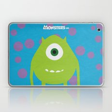 Monsters - Minimalist Po… Laptop & iPad Skin