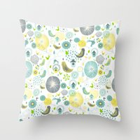 Spring Spirit Throw Pillow