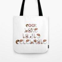 Cook Bake Taste Celebrate Tote Bag