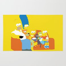 The Simpsons - Family Rug