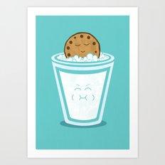Hot Tub Cookie Art Print