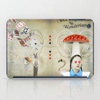 Alice In Wonderland iPad Case