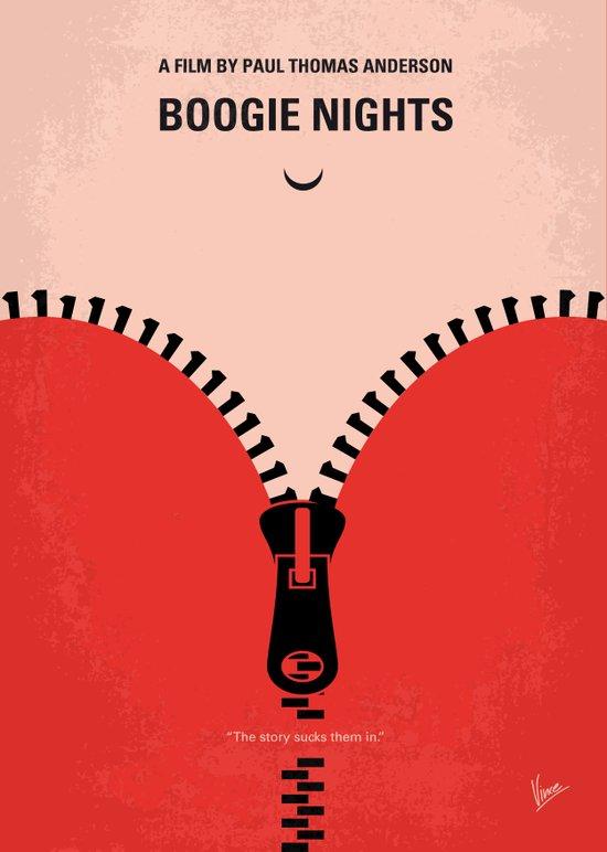 No167 My Boogie Nights minimal movie poster Canvas Print