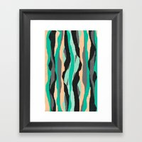 Ripped Off Framed Art Print