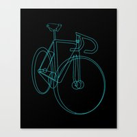 Bike Sketch Canvas Print