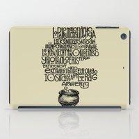 Something smells good! iPad Case