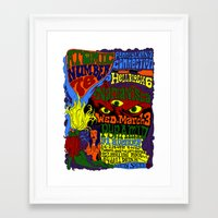 March 3, 2004 at The Pyramid Framed Art Print