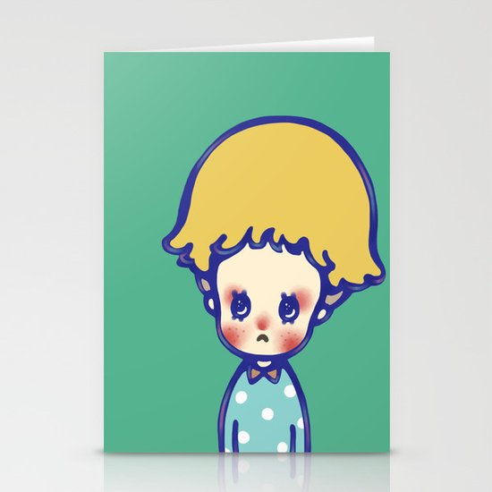 Where are you, little star? Stationery Card