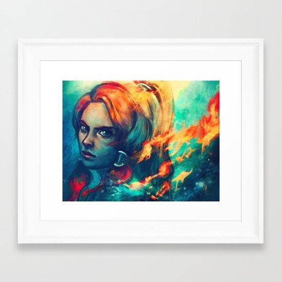 Legend Framed Art Print
