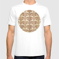 Christmas Pattern On Woo… Mens Fitted Tee White SMALL