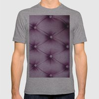 Violet Mens Fitted Tee Athletic Grey SMALL