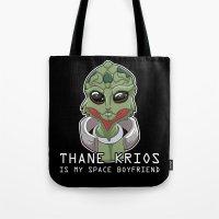 Thane Is My Space Boyfriend Tote Bag
