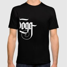 Dogg Mens Fitted Tee Black SMALL