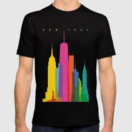 T-shirt featuring Shapes Of NYC. Accurate … by Glen Gould