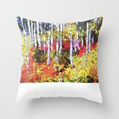 Glorious Colors Throw Pillow