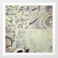 Between Time Quad Art Print