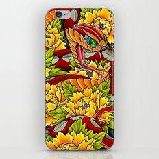 peony viper iPhone & iPod Skin