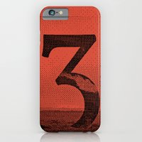 iPhone & iPod Case featuring Three by YONIL