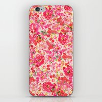 Chinese New Year Flowers iPhone & iPod Skin