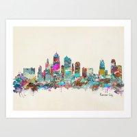 Kansas City Missouri Sky… Art Print