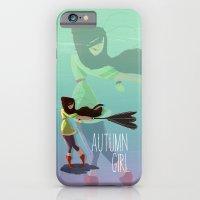 Autumn Girl iPhone 6 Slim Case