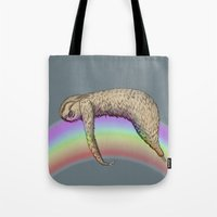Nap (Sloth & Rainbow 2) Tote Bag