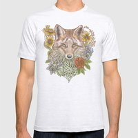 Fox Garden Mens Fitted Tee Ash Grey SMALL