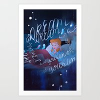 A Dream Is A Wish Your H… Art Print