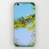 Palm Trees Tropical Phot… iPhone & iPod Skin