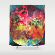 Shower Curtain featuring 1 Cyrc by Spires