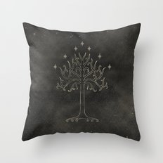 Lord of the Rings: Tree of Gondor Throw Pillow